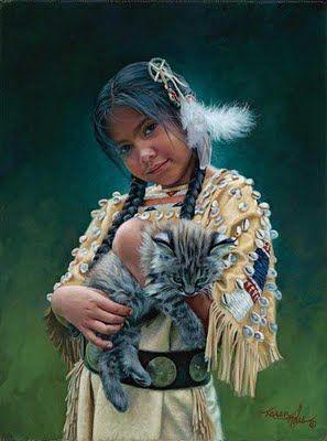 American natives, Los Bellos Nativos Americanos de Karen Noles