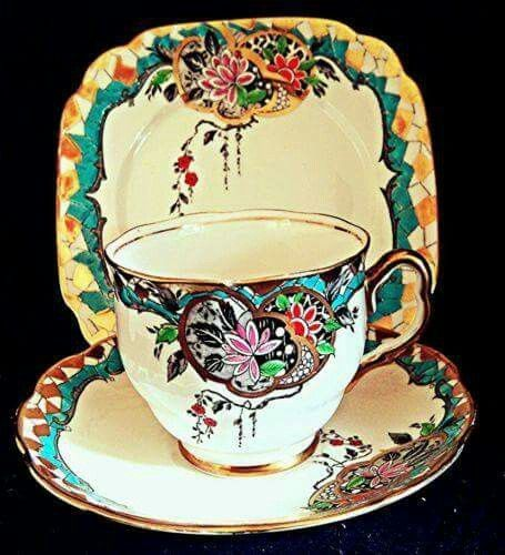 Cup, Saucer and Tea Plate