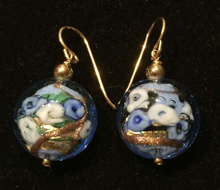 Murano pale blue Bed of Roses earrings by MuranoBling on Etsy https://www.etsy.com/au/listing/506988066/murano-pale-blue-bed-of-roses-earrings