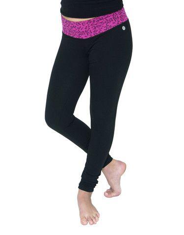 Girls Printed Waist Legging #JillYoga #Yoga #Dance #Sport