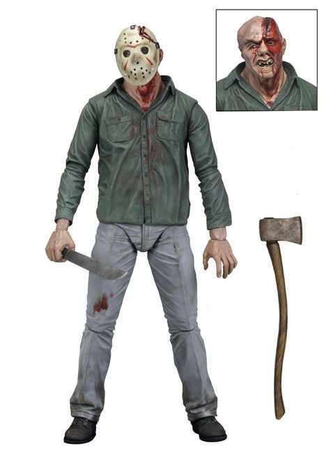 Friday the 13th Series 1 Jason Action Figures Shipping Now!   NECAOnline.com