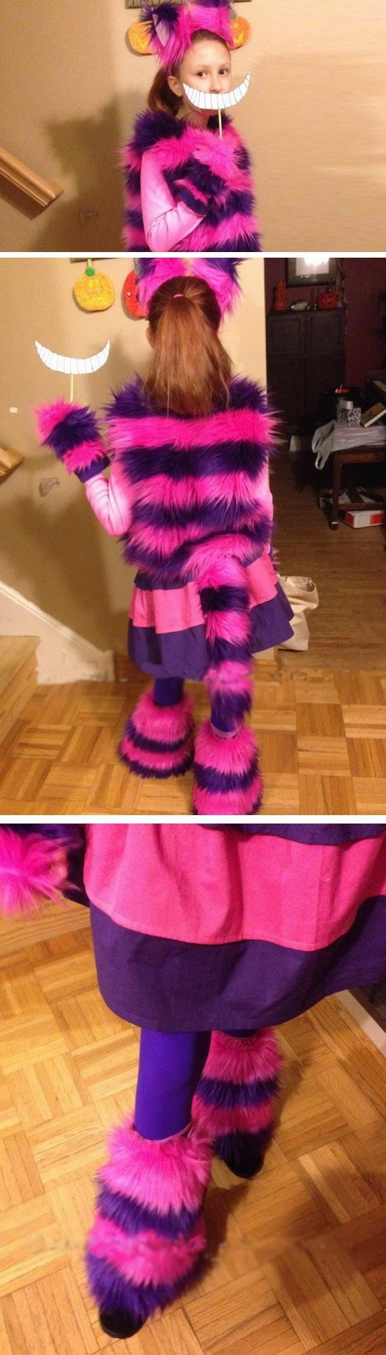 Cheshire Cat | 25+ DIY Halloween Costumes for Kids to Make