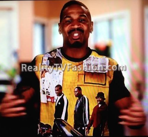 """Stevie J's """"Green Screen Interview"""" 'Paid In Full' T-shirt"""