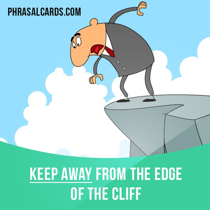 """Keep away"" means ""to not go ​somewhere or near something"". Example: Keep away from the ​edge of the ​cliff. #phrasalverb #phrasalverbs #phrasal #verb #verbs #phrase #phrases #expression #expressions #english #englishlanguage #learnenglish #studyenglish #language #vocabulary #dictionary #grammar #efl #esl #tesl #tefl #toefl #ielts #toeic #englishlearning"