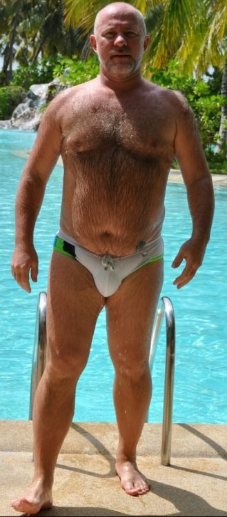 Mature Speedo Men  Big Men Older Men In 2019  Hairy Men -6945
