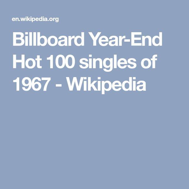 Billboard Year-End Hot 100 singles of 1967 - Wikipedia
