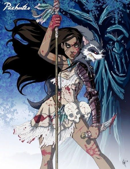 twisted pocahontas fractured fairy tales pinterest