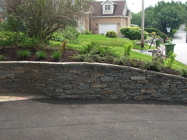 1000 images about retaining wall on pinterest other for Landscape retaining wall design