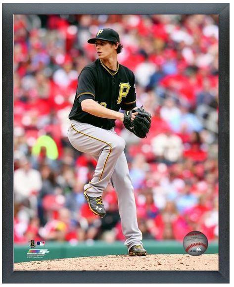 "Jeff Locke 2013 Pittsburgh Pirates - 11"" x14"" Photo in a Glassless Sports Frame"