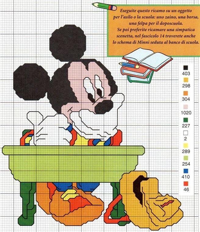 Mickey School Dude