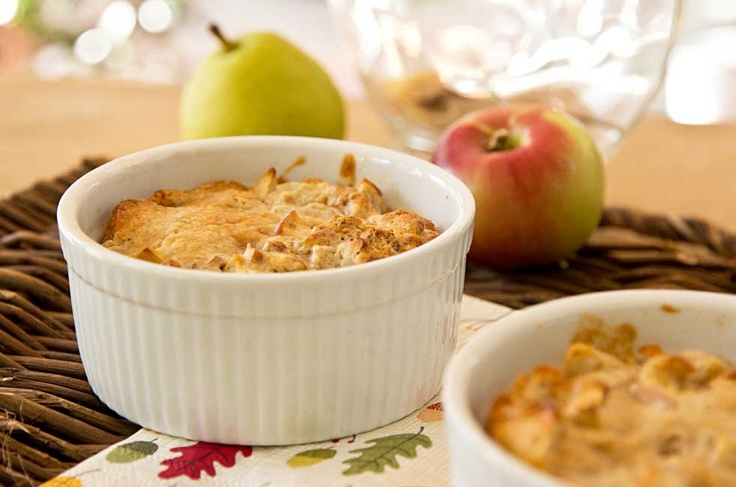 Pear Apple Cobbler: An quick and easy pear apple cobbler