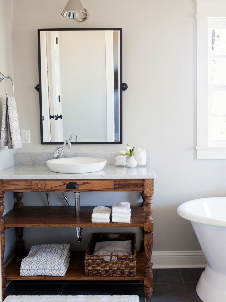 See how team fixer upper revitalized this collapsing for Bathroom seen photos