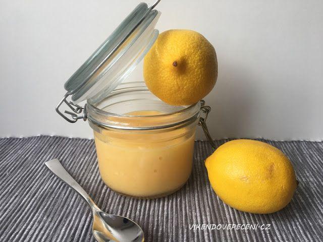 VÍKENDOVÉ PEČENÍ: Citronový krém (lemon curd)