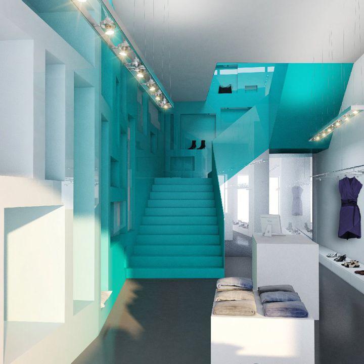 color_Inside Fashion Store by Sohne Partner Architekten