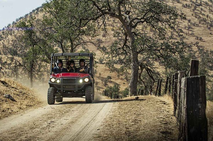 """New 2016 Kawasaki Mule Pro-FXTâ""""¢ EPS LE ATVs For Sale in Oklahoma. Kawasaki Strong The new 2016 Mule PRO-FXTâ""""¢ has incomparable strength and endless durability backed by over a century of Kawasaki Heavy Industries, Ltd. engineering knowledge. Go and get the job done with the PRO FXT's three-passenger Trans-Cabâ""""¢, or easily convert it to six-passenger mode for a revolutionary new way to work and play."""