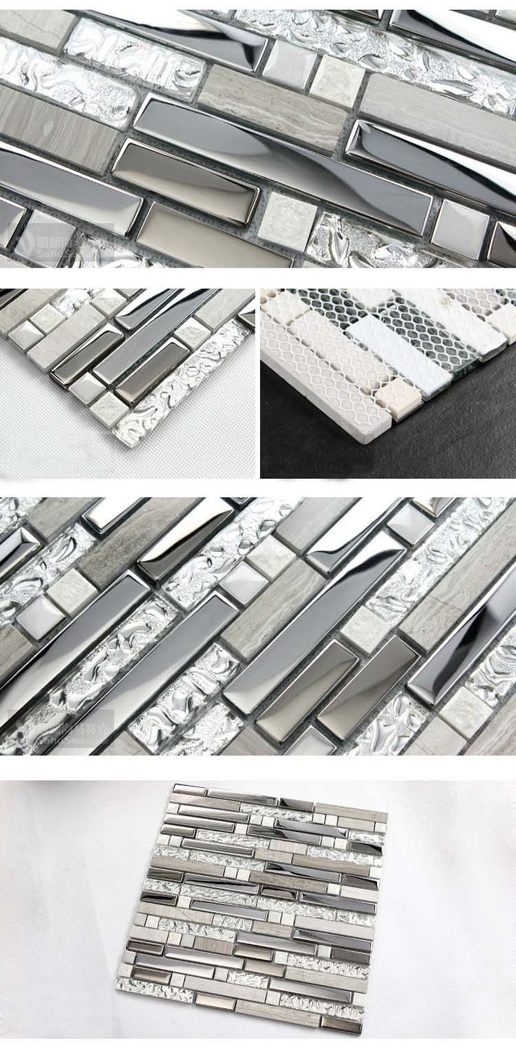 Aliexpress Com Buy Crystal Mosaic Tile Mirror Sheets
