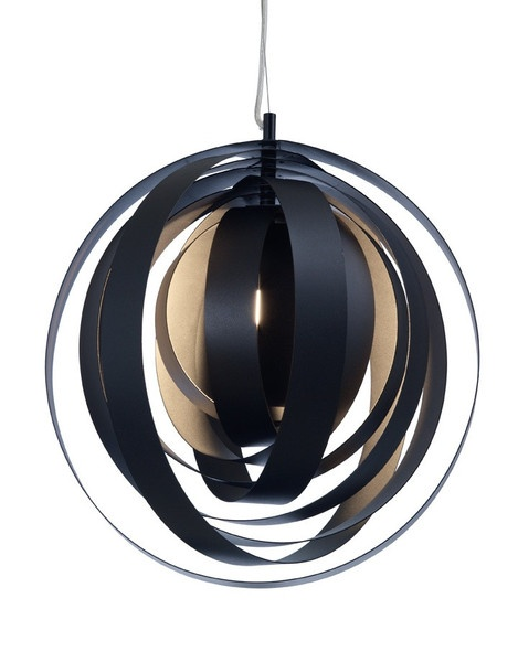 ORBA PENDANT LAMP - Black http://www.homedesignhd.com/collections/lighting/products/orba-pendant-lamp-black