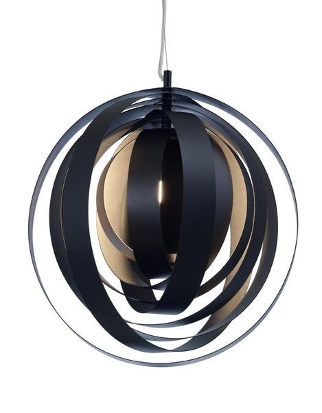 ORBA PENDANT LAMP - Black http://www.homedesignhd.com/collections/lighting/products/orba-pendant-lamp-black