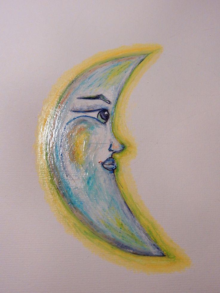 """Studio del personaggio della fiaba """"Il sarto e la luna"""" (""""The quarter moon"""" - fairy tale character)"""