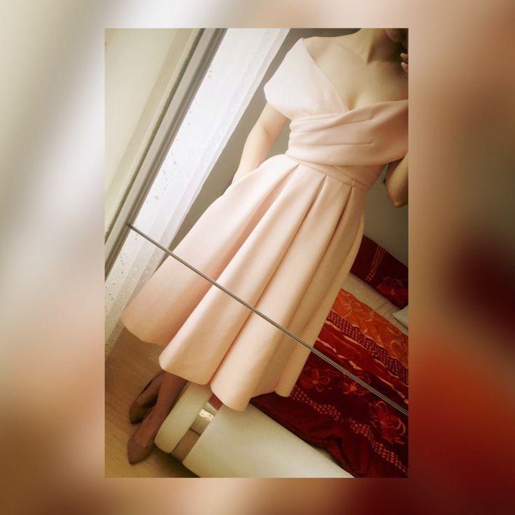 Perfektes secondhand Hochzeitsgastkleid in S von asos | Gefunden auf gebraucht.de