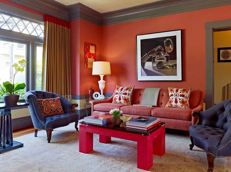 LOVE The Bold Colors Of This Room And Combination Jewel Tones Jay Jeffers Home