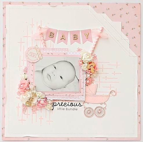 Layout featuring the new Peek A Boo collection and mini templates IT921 Nov 16. www.instagram.com/paper_sweetpea