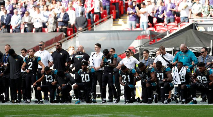 Why US sports stars are taking a knee against Trump  US President Donald Trump is continuing his public attacks on prominent black athletes. Late last week, he urged National Football League (NFL) team owners to fire players who knelt in protest during the playing of the national anthem before the game.   #Latest Trump News #Trump News Today #Trump Politics #Trump Recent