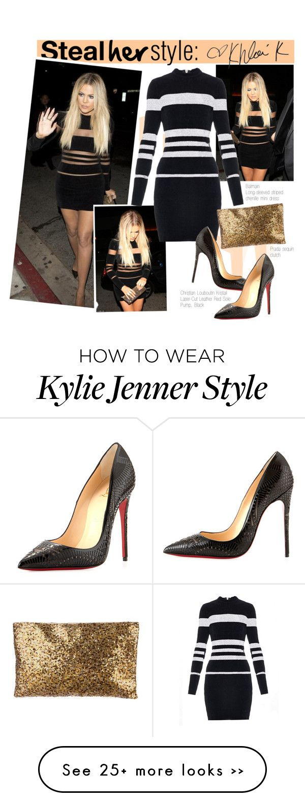 Khloe Kardashian At Kylie Jenner 18th Bday Party By Georginamaybrown On Polyvore Outfits