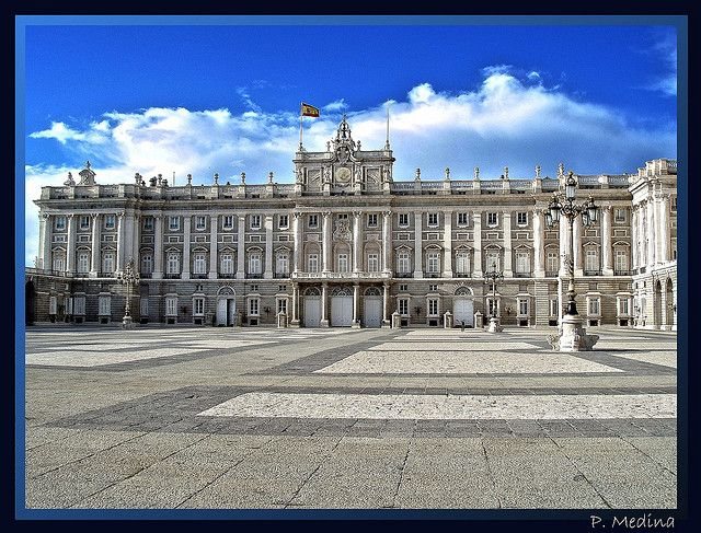 The Palacio Real (Royal Palace) of Madrid is the official residence of the King of Spain although it is only used for state ceremonies. The Royal Palace was built between 1738 to 1755 and King Carlos III took up residence in the palace in 1764.