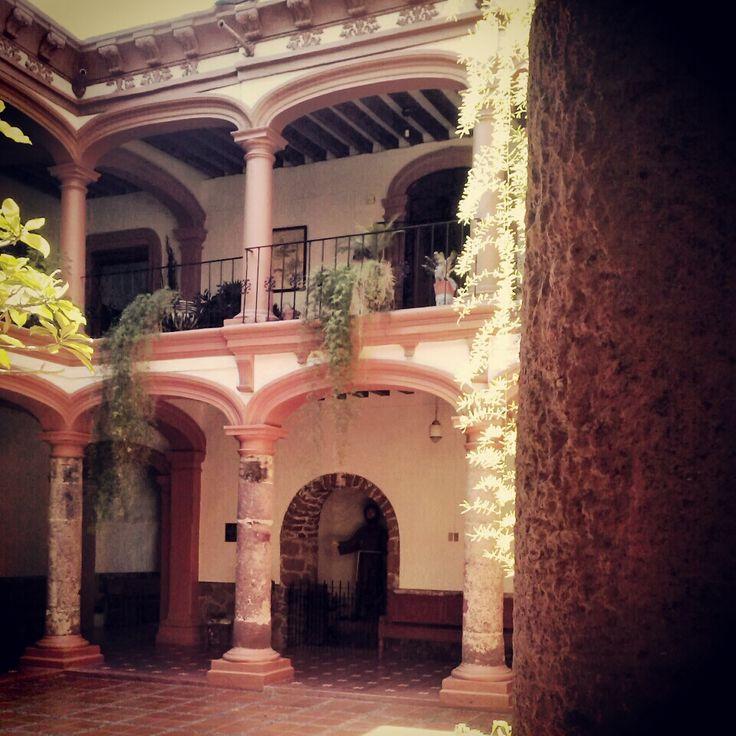 Claustro  Iglesia De San Francisco Jiquilpan  Michoac U00e1n