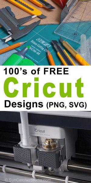 Free Cricut Designs (Obtain Patterns for Vinyl & Scrapbook Reducing)