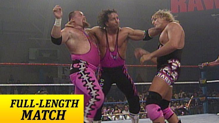 FULL-LENGTH MATCH - Raw - Bret Hart & British Bulldog vs. Owen Hart & Ji...
