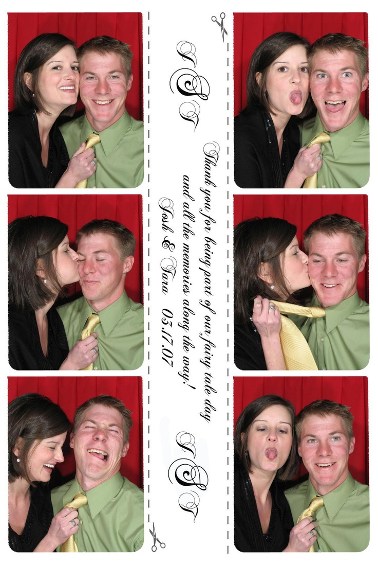 date night: take some just-for-fun photos of you both at a Kiosk or at the walmart portrait studio