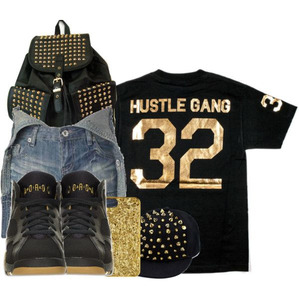 Hustle Gang by jayjay-x0 on Polyvore featuring New Look and MARC BY MARC JACOBS