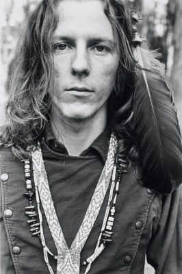 Big Brother guitarist James Gurley poses in all his Tribal Stomp regalia (1967)