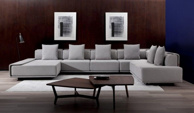Large u shape or modular sofa optionsShown in Grey fabric W302/426 x D190/278 x H84 cmPlease refer to the diagrams for options50procent OF