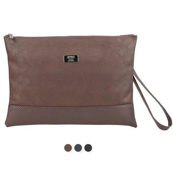 Leather Clutch Bag for Men Shoulder Bag LEFTFIELD 143