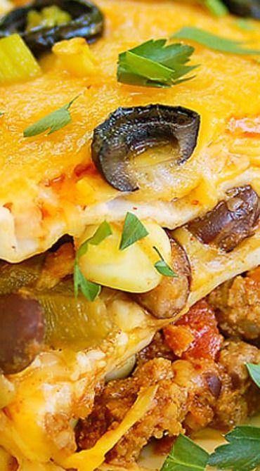 30-Minute Simple Mexican Lasagna