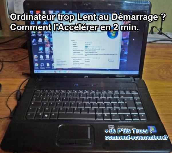 Est-ce que cela vous dit de découvrir un petit secret pour que votre ordinateur PC ou Mac ne ralentisse plus un max au démarrage ?  Découvrez l'astuce ici : http://www.comment-economiser.fr/ordinateur-lent-au-demarrage.html?utm_content=buffer94482&utm_medium=social&utm_source=pinterest.com&utm_campaign=buffer