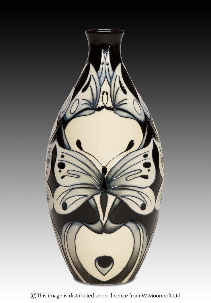 MOORCROFT Pottery Design: Butterfly Tears Designer: Rachel Bishop