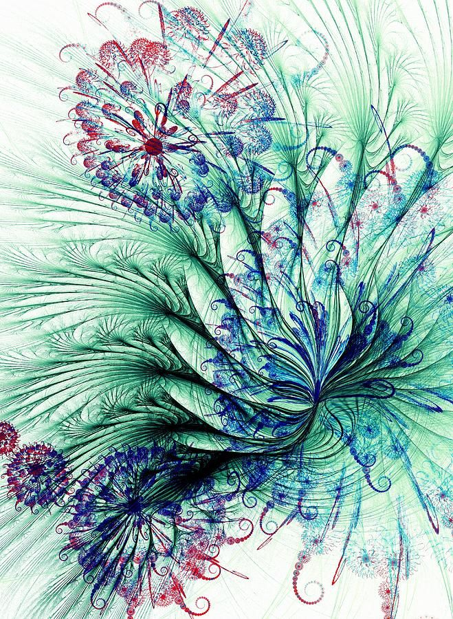 swirling dandlion | Art.3 | Pinterest