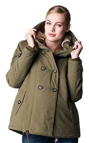 Noppies Winterjacke mit Kapuze Umstands- Jacke Winter Damen Umstandsmode Jacken/ Mantel 50690