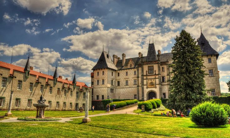 Zámek Žleby Castle - First written mention of the castle is from the year 1278.