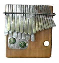 MBIRA DZA VADZIMU. Zimbabwean mbira in A tuning. Handmade by Zimbabwean instrument maker Dingiswayo Juma.