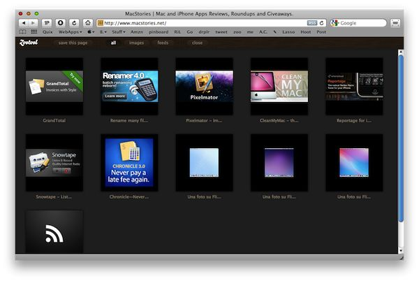 Zootool, the iTunes for the Web.