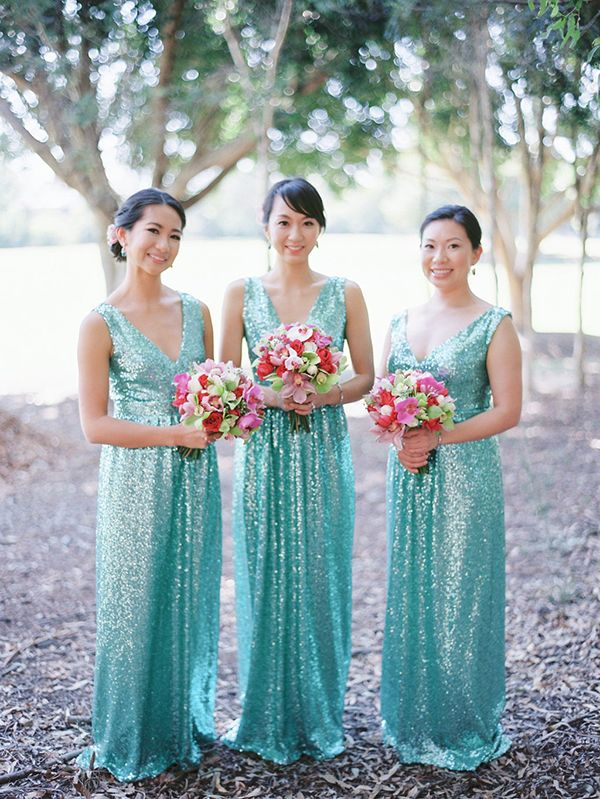 25  best Glitter bridesmaid dresses ideas on Pinterest | Gold ...