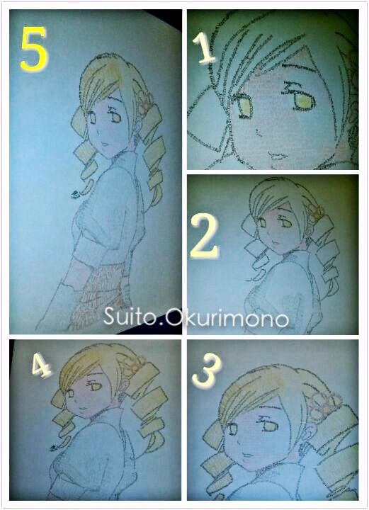 Letters draw /Mami Tomoe / anime