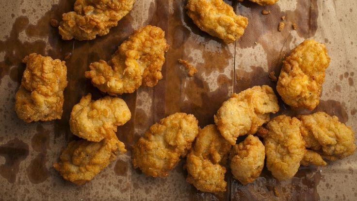 Huîtres frites et sauce piquante | Zeste