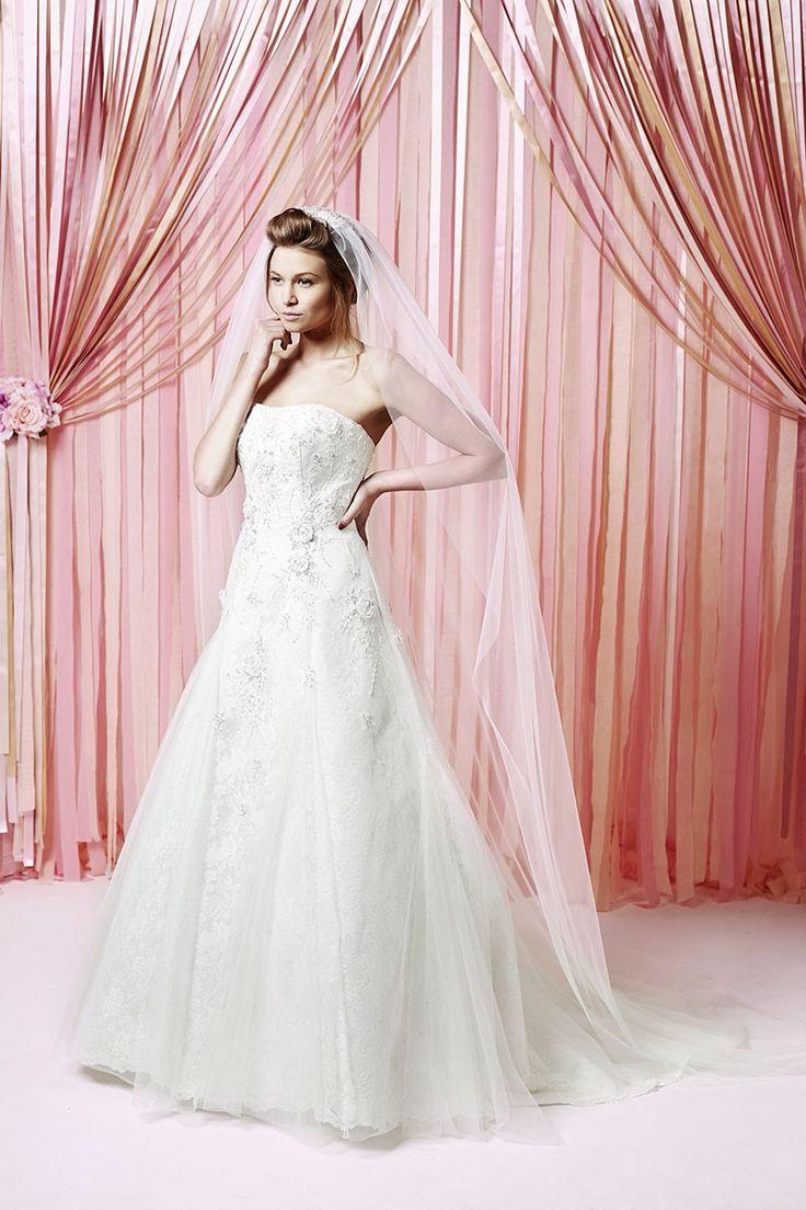 Hermosa My Wedding Gown Adorno - Colección de Vestidos de Boda ...