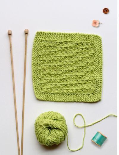 Köss magadnak puha pamut mosdókendőt! / Éva Magazin  // Dishcloth Knit Tutorial. Do it in your favorite color!